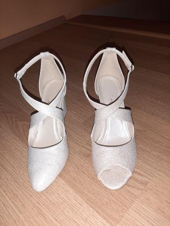 Buty ślubne 41 , wkładka 26.5