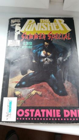 Marvel comics the punisher 4/95