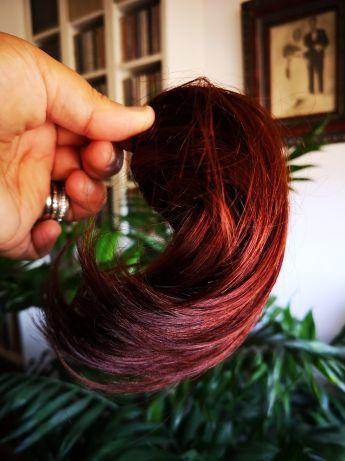 Postiço cabelo natural