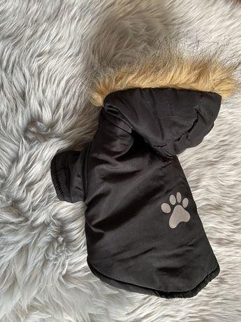 Kurtka ubranko dla psa futerko odblask  S M york chihuahua