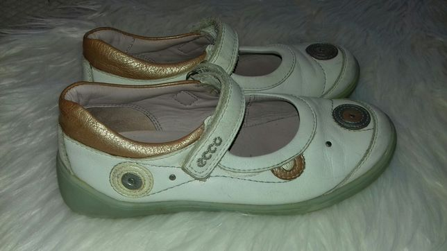 Класннйшие туфли Ecco Kids 32 разм 21 см натуральная кожа