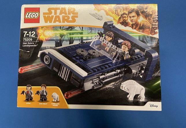 Набор LEGO Star Wars Вездеход Хана Соло 75209 (2018, новые, оригинал)
