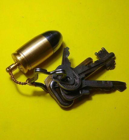 Сувенир Брелок Патрон  напас, колпак приспособление для курения