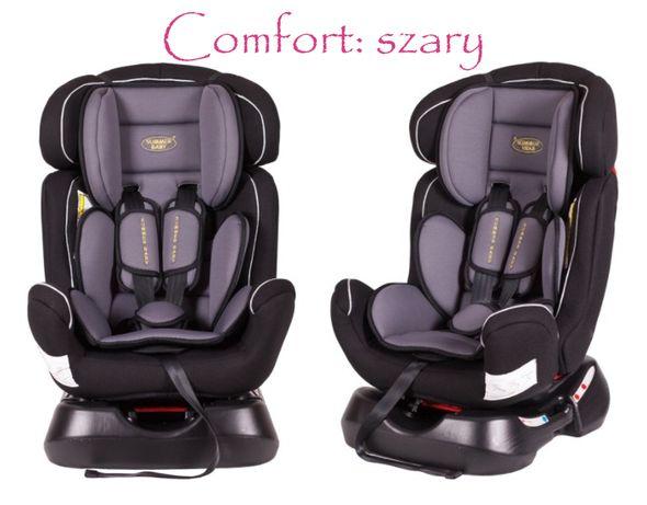 Fotelik Samochodowy Comfort 0-25 kg - możliwy montaż tyłem i przodem