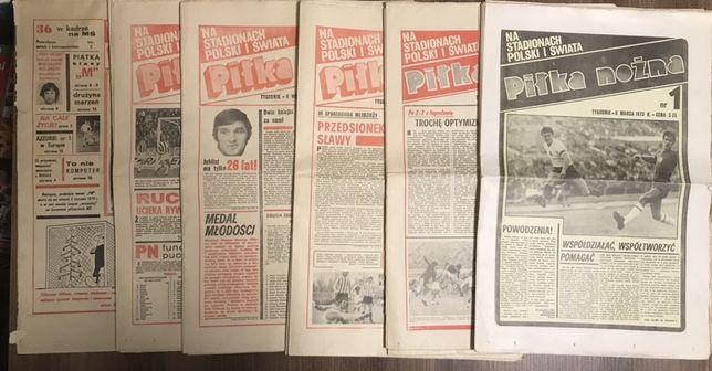 Tygodnik Piłka Nożna rocznik 1973