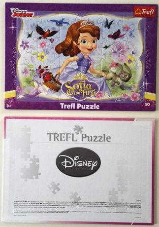 sofia the first jej wysokość Zosia disney junior puzzle puzle trefl