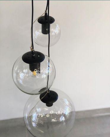 Люстра подвес стеклянный шар прикроватный барная стойка