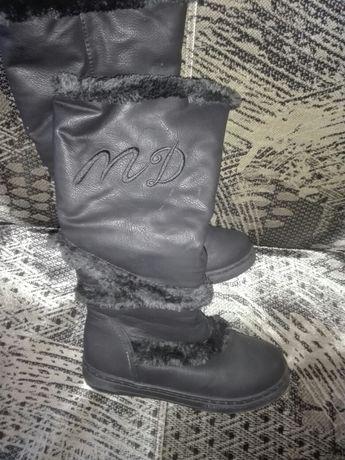 Ciepłe buty dla dziewczynki