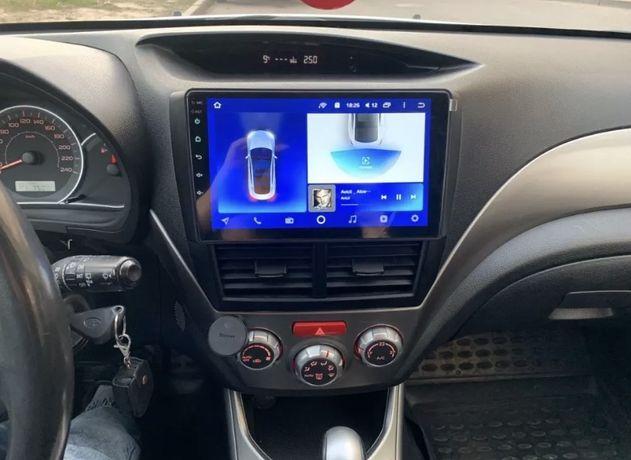 Магнитола для Subaru Forester 3 2007-2014 + Подарок