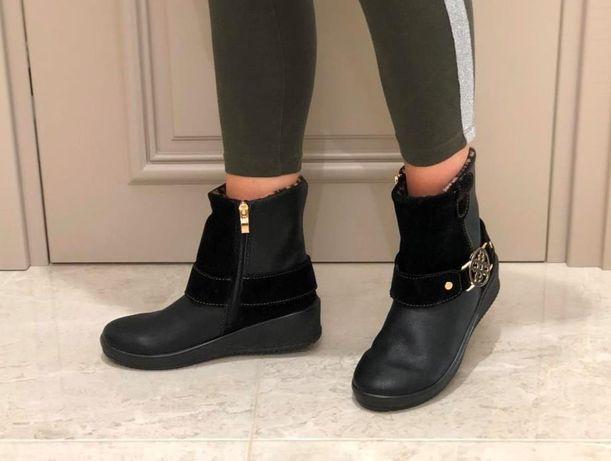 Полусапоги полусапожки зима ботинки ботиночки стелька 25 см