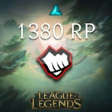Riot points 650 RP 1380 RP