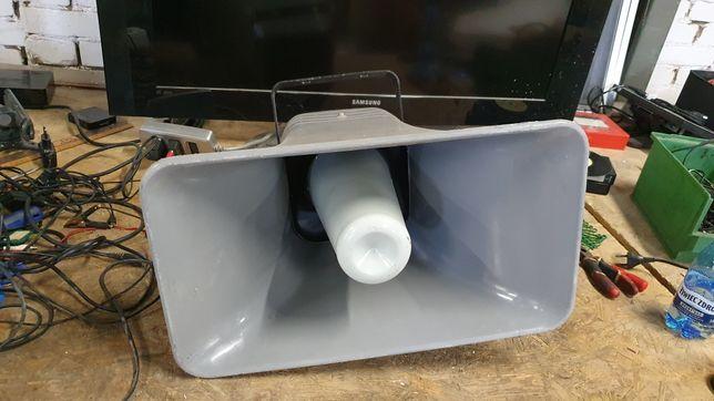 Głośniki tubowe 2 sztuk milicja LWP