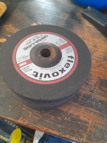 10 discos de rebarbar, rebarbadora grande