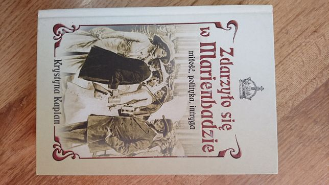 książka żdarzyło się w Marienbadzie Krystyna Kaplan