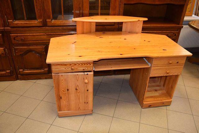 biurko sosnowe duże