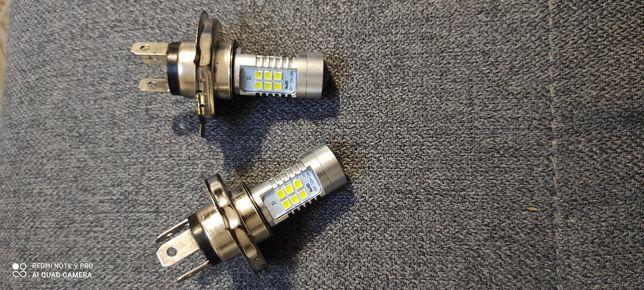 Żarówki H4 LED mocne