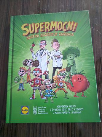 Nowa. Książka dla dzieci Supermocni kontra złodzieje zdrowia.