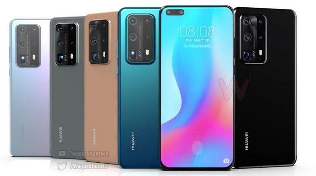 Huawei P40 Pro Plus Мобильный телефон Смартфон Хуавей 40 +ПОДАРКИ