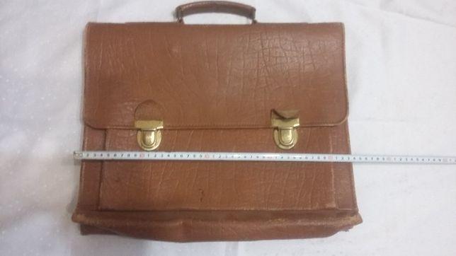 портфель кожаный ссср
