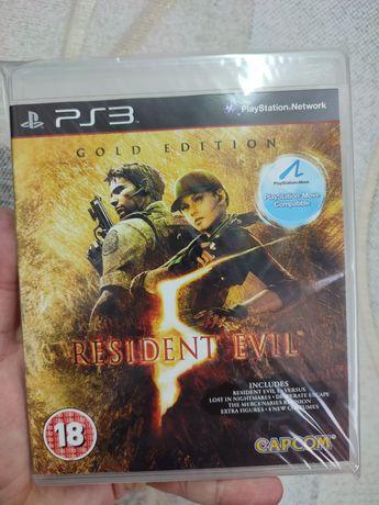 Игра диск ps3 Resident Evil 5 gold