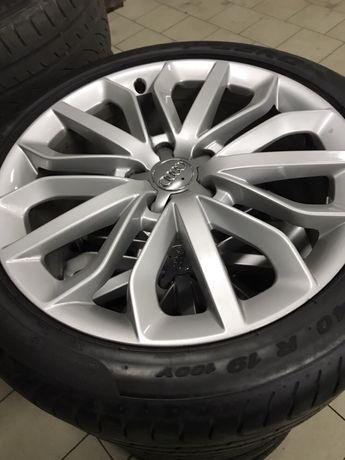 Колеса Audi Q7 с резиной 19