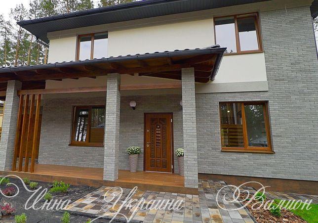 Готовый дом в окружении леса, рядом с парковой зоной 8 км от Киева.
