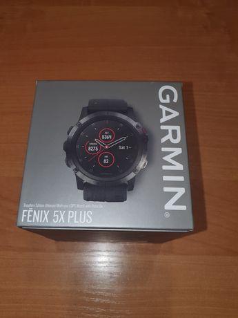 Garmin Fenix 5X Plus Sapphire - NOWY - Pudełko ma plomby