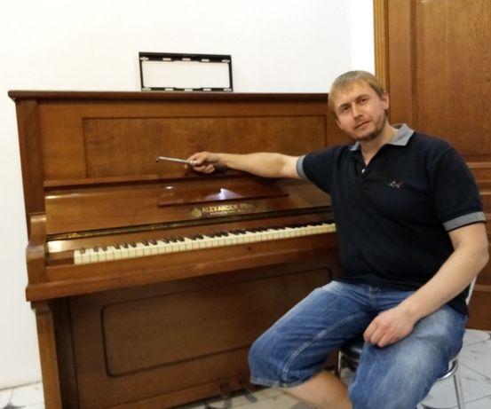 Настройщик пианино - настройка, ремонт, перевозка, осмотр