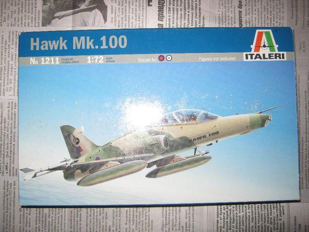 "Сборная пластиковая модель самолёта Hawk Mk.100 (1/72 ,,Italeri"" )"