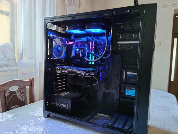 Sprzedam PC Ryzen 5 3600, 16GB RAM 3200Mhz, X570, RX 570 8GB, AIO, SSD