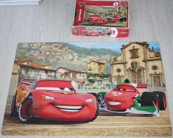Puzzle gigant Auta Cars McQueen Pixar Trefl 36 elementów duży format!