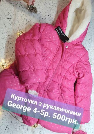 Куртка George 4-5років нова