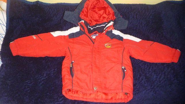 kurtka juniorska kurtka zimowa Brugi 110 116