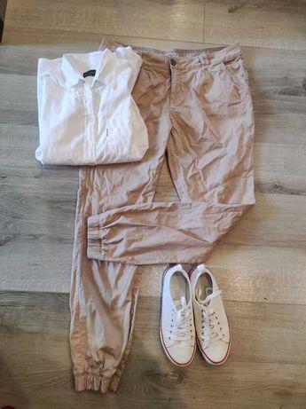 Spodnie bawełniane roz 42