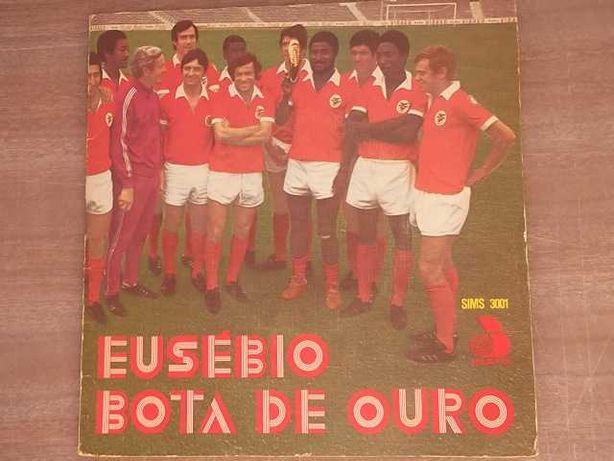 EUSÉBIO BOTA DE OURO 1972 -Disco VINIL c/Poster e BIOGRAFIA integrados