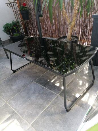 Ława/ stolik czarny szkło