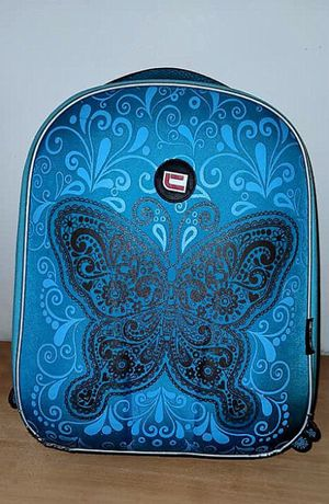 Plecak CORVET tornister szkolny MOTYL Stan IDEALNY JAK NOWY + gratis