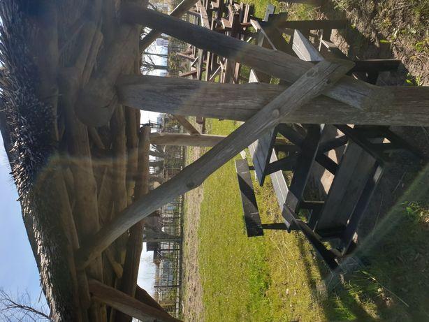 Altanaogrodowa,solidne i trwale, z litego drewna