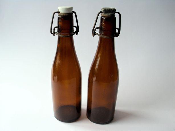 PRL 2 oryginalne butelki z epoki