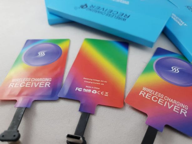 Real Fast 2A! Адаптер беспроводной зарядки Wireless Receiver 2A Тype-C