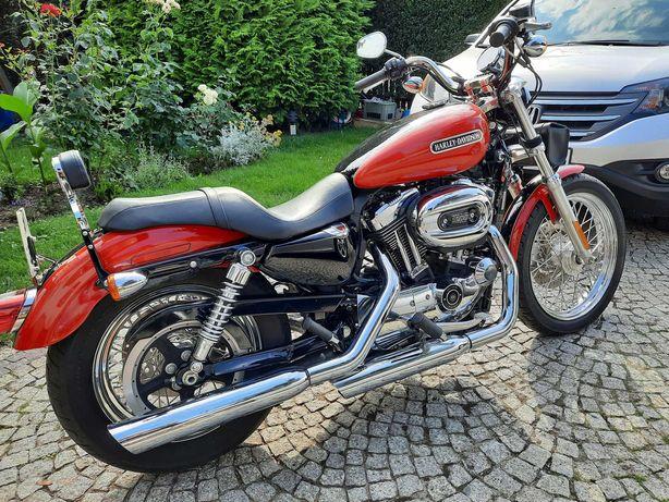 Harley Davidson Sportster 1200 stan perfekcyjny mienie przesiedleńcze