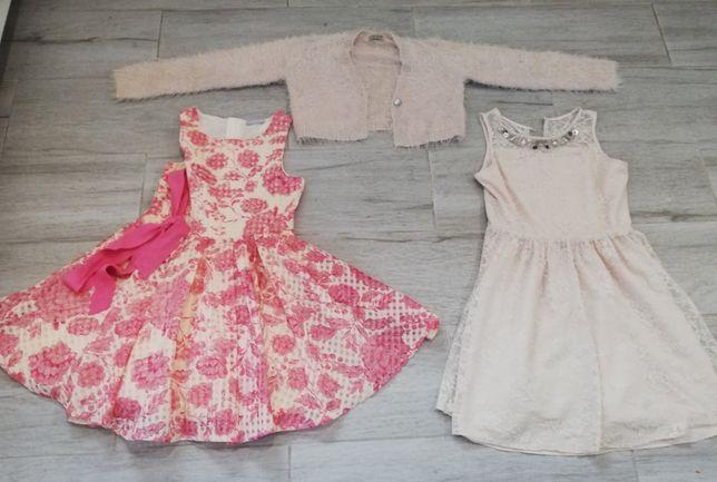 sukienki dziewczęce + sweterek 10 lat - Next - blush