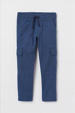 Новые брюки с карманами НМ 7-8 лет