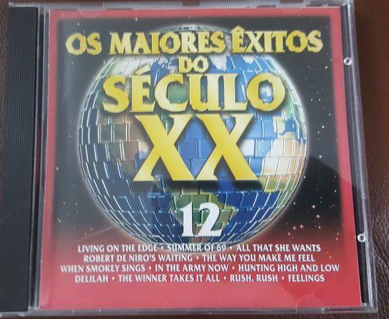 CD n. 12 OS MAIORES ÊXITOS DO SÉC XX