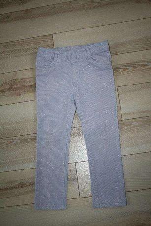 Spodnie sztruksowe H&M rozm. 98