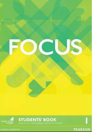 FOCUS 1,Pearson,Student's Book+Work Book+Teacher's Book+AUDIO mp3