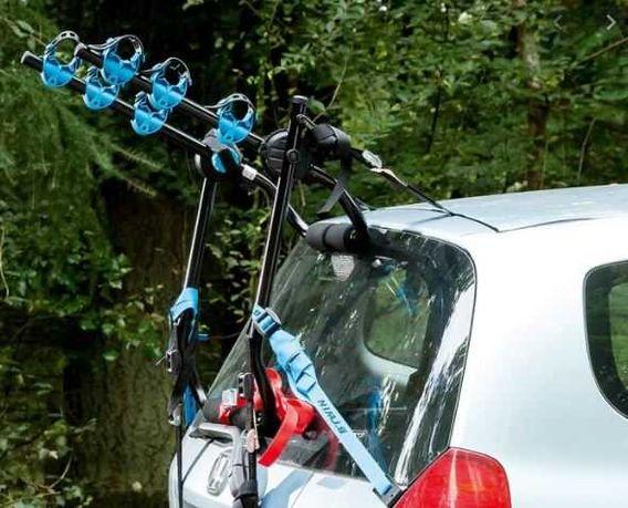 Bagażnik na rowery 2-3 - tylna klapa samochodu