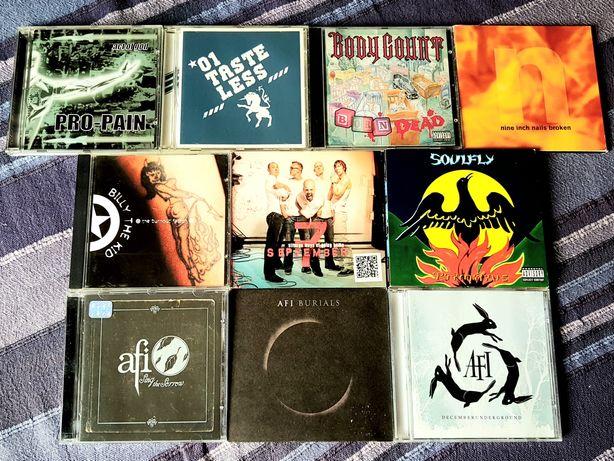 Lote de 10 CDs - Metal Alternativo/Heavy Rock (Portes Grátis)