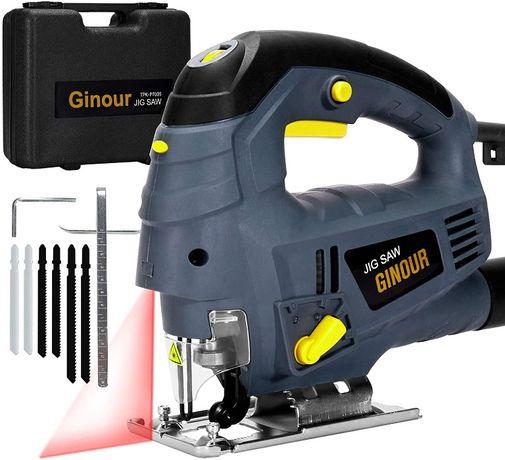 Serra de Calar / Tic Tic 800 W com Guia Laser Nova