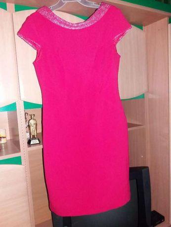 sukienka czerwona, sukienka na wesele, elegancka sukienka